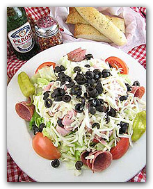 Two Brothers Antipasta Salad