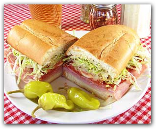 Sub Sandwiches available at Two Brothers Pizza