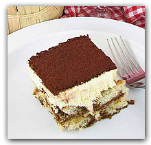 Flavorful Tiramisu for Dessert at Two Brothers